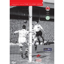 Clyde v Celtic (issue 13A)